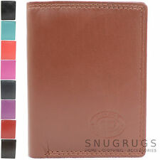Ladies / Womens / Mens Soft Leather Credit Card / Travel Card / ID Money Holder