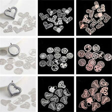 New 76 Formula Floating charm 22mm discs Round for glass Living Memory Locket !