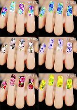 Nail Art Water Transfers Decor Sticker Manicure Nail Polish Decals Many Patterns