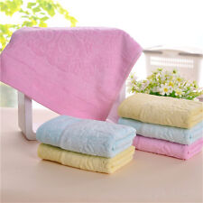 Gift Soft Absorbent Drying Face Hands Fiber Towel 34x76cm Washcloth Bath f MJ49