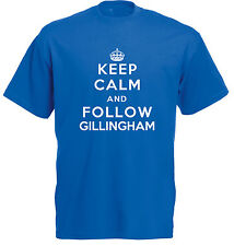 Keep Calm Football T-Shirt - Gillingham