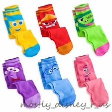 New Disney Store Inside Out Socks Set Joy Anger Disgust Fear Bing Bong Sadness