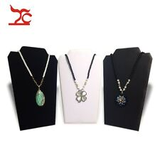 Foldable Necklace Bust Jewelry Pendant Chain Display Holder Stand Neck Easel