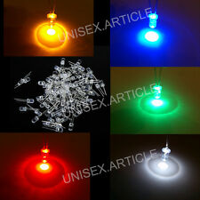 3 5 10mm Ultra Bright Water Clear LED Bulb 3V Five Colours Light Emitting Diode
