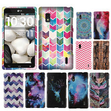 For LG Optimus G E970 AT&T Various Patterned Snap On HARD Case Cover Accessory
