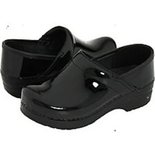 Dansko Professional Black Patent leather Women  Clogs in  MANY SIZES