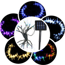 4.8M 20 LED Solar Powered Dragonfly String Fairy Light Outdoor Xmas Party Decor