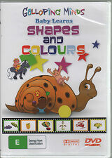 Galloping Minds Baby Learns Shapes and Colours Preschool Educational DVD region4