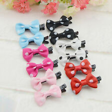 10/30pcs Lovely Bowknot Nice Baby Girls Kids Hair Clips Hairclip Hair Bows