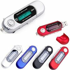 Portable USB Digital MP3 Player Music Player LCD Screen Support 32GB TF Card