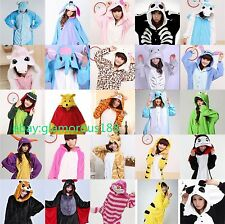 Hot Unisex Pajamas Kigurumi Halloween Cosplay Costume Animal Onesie Sleepwear