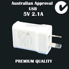 USB AC Wall Charger Cable Adapter for Apple iPhone Samsung Asus Sony HTC 2.1A
