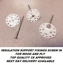 Insulation Support Fixings Screw in / Isowood