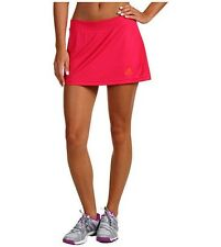 NWT Adidas Women's Adizero Tennis Skort/Skirt w/Attached Shorts Pink