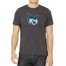Georgia College & State University Bobcats Distressed Logo Tee  Version 2