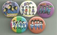 Beatles Cartoon 1.5 inch Pins / Buttons or Magnets Lot 8