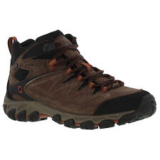 Merrell Serraton Mid Waterproof Mens Brown Leather Walking Ankle Boots Size 8-14