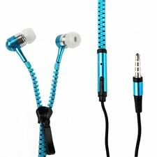 New 3.5mm Zipper Headphones Earbuds Earphone Headset for iPhone iPod MP3 Laptop