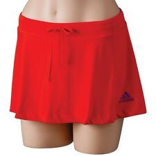 NWT Adidas Women's Adizero Exercise Tennis Skort Core Energy Red Large