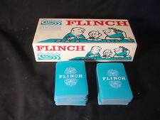 Old Vtg Parker & Brothers Inc. Flinch The Famous Card Game Original Box