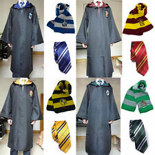 Harry Potter Cloak Tie Scarf Gryffindor/Hufflepuff/Slytherin/Ravenclaw Costume E