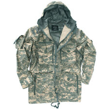 Mil-Tec Tactical Military Smock Army Parka Hunting Mens Jacket ACU Digital Camo