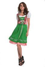 Cute Sexy Ladies Oktoberfest German Bavarian Beer Girl Maid Fancy Dress Costume