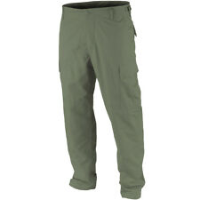 Teesar Mens BDU Army Combat Trousers US Military Prewashed Uniform Pants Olive