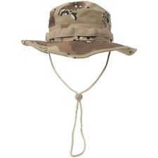 Gi Ripstop Boonie Bush Hat Army Military Uniform 6-Colour Desert Camo : S-XL