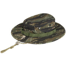 Vietnam Army Style Boonie Bush Camouflage Jungle Sun Hat Cap Tiger Stripe Camo