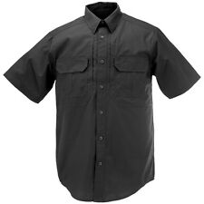 5.11 Taclite Pro Tactical Mens Shirt Security Patrol Short Sleeve Ripstop Black