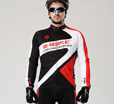 Men's Comfortable Cycling Riding Clothing Long Sleeve Bike Bicycle Jersey Tops