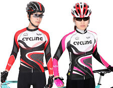 Two Genders Cycling Clothing Bicycle Long sleeve Bike cycling Outdoor jersey Top