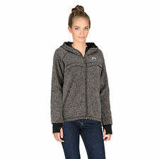 Women's Rinkside Charcoal Edmonton Oilers Taber Hooded Jacket - NHL