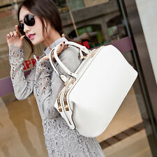 Design Womens Croco Tote Handbag Crossbody Shoulder Messenger Doctor Bag Purse