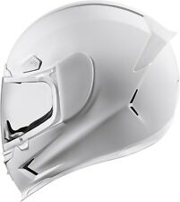 Icon Airframe White Pro Gloss Full Face Motorcycle Street Helmet