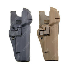 Tactical Right Hand Waist Paddle Belt LEVEL 3 Lock Duty Holster Colt 1911 M1911