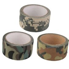 Military Camo Cotton Cloth Wrap Rifle/Gun Hunting Camouflage Stealth Tape Roll
