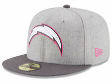 Official 2015 San Diego Chargers New Era 59FIFTY Hat NFL Breast Cancer Awareness