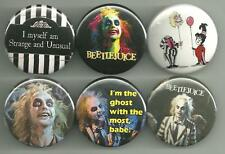 Beetlejuice Tim Burton 1.5 inch Pins Buttons Magnets