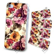 NEW PRETTY FLOWER FLORAL RETRO VINTAGE HARD CASE COVER FOR APPLE IPHONE 4 4G 4S