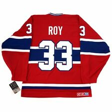 """1992-93 Patrick Roy CCM Montreal Canadiens Throwback """"HEROES"""" Home Jersey Men's"""