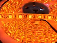 16.4ft 600nm True Orange led strip SMD 5050 3528 5m 60led/m Waterproof IP65 IP21