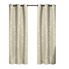Blackout weave Grommet Curtain Panels Virginia (Set of 2) 74 X 84 inches