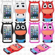 For iPod Touch 5th 6th Gen Rubber SILICONE Soft Gel Ox Skin Case Cover