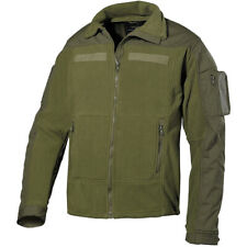 Mfh Tactical Us Combat Mens Fleece Warm Hunting Hiking Ripstop Army Jacket Olive