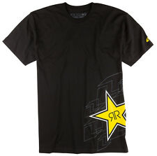 ONE INDUSTRIES MEN'S ROCKSTAR PUZZLED TEE T-SHIRT BLACK adult motocross mx mtb