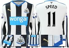 *15 / 16 - PUMA ; NEWCASTLE UTD HOME SHIRT LS + PATCHES / SPEED 11 = SIZE*