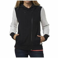 Fox Racing Clothing Side Swiped Womens Ladies Zip Up Sweatshirt Hoodies
