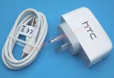 Original HTC One M7 Max Desire 610 816 310 601 USB Wall Charger and Cable